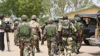 Image result for Nigerian army on elections day