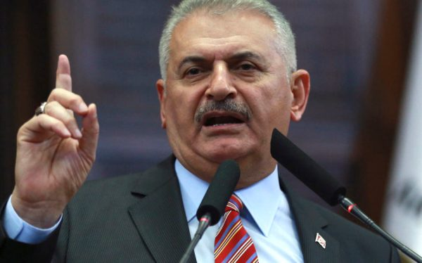 Turkey prime minister steps back from calls for death ...