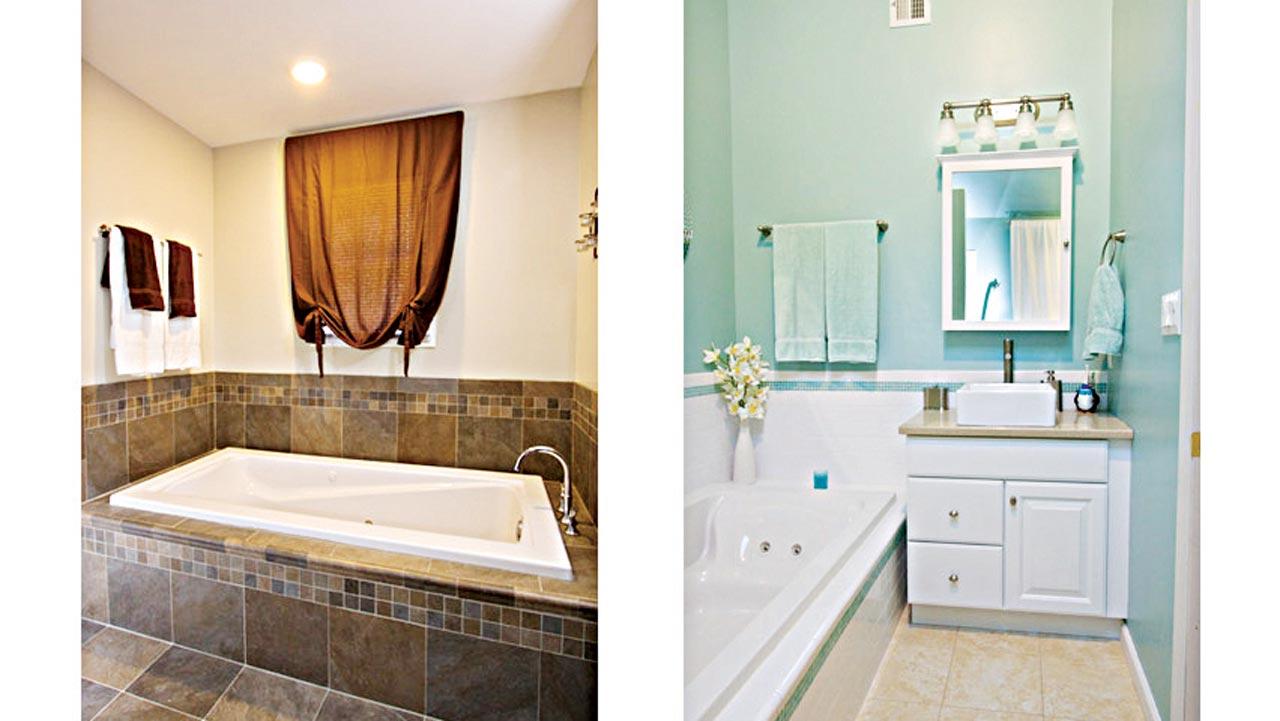 Remodeling on a dime: Bathroom edition — Saturday Magazine ... on Small:tyud1Zhh6Eq= Bathroom Remodel Ideas  id=92805