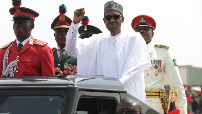 Nigeran Defence Academy Oct Kaduna President Muhammadu Buhari