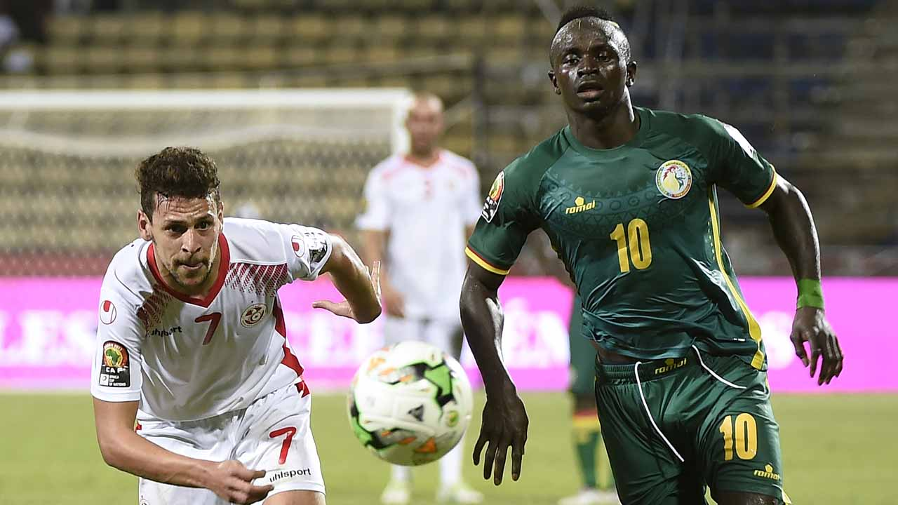 Image result for pictures of Teranga Lions and Sadio Mane