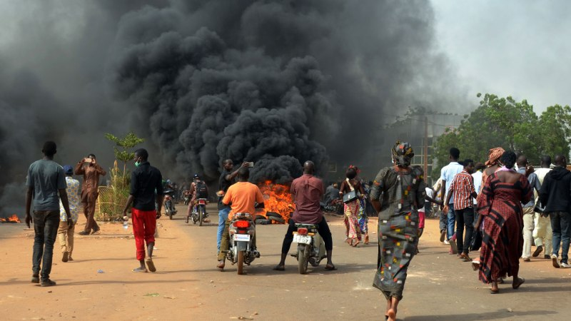 Clashes Erupt At Niger Protest Over Financial Reforms