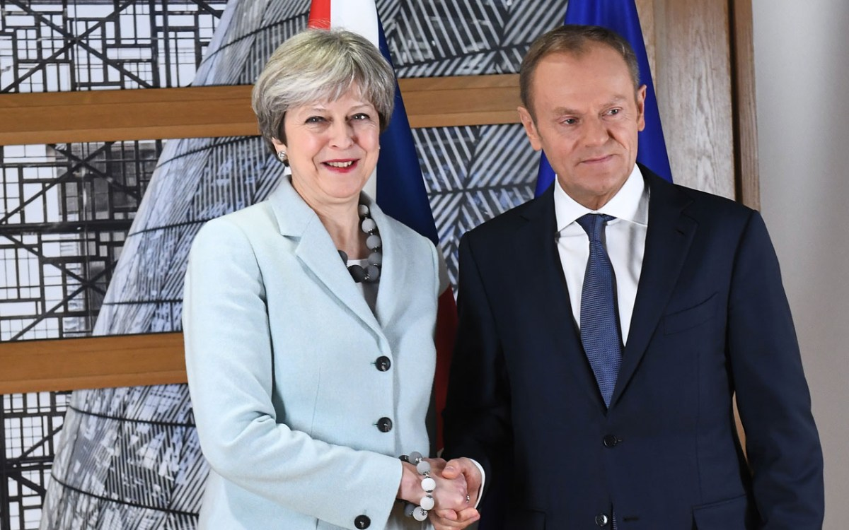 Donald Tusk - Britain and EU reach deal on Brexit divorce terms