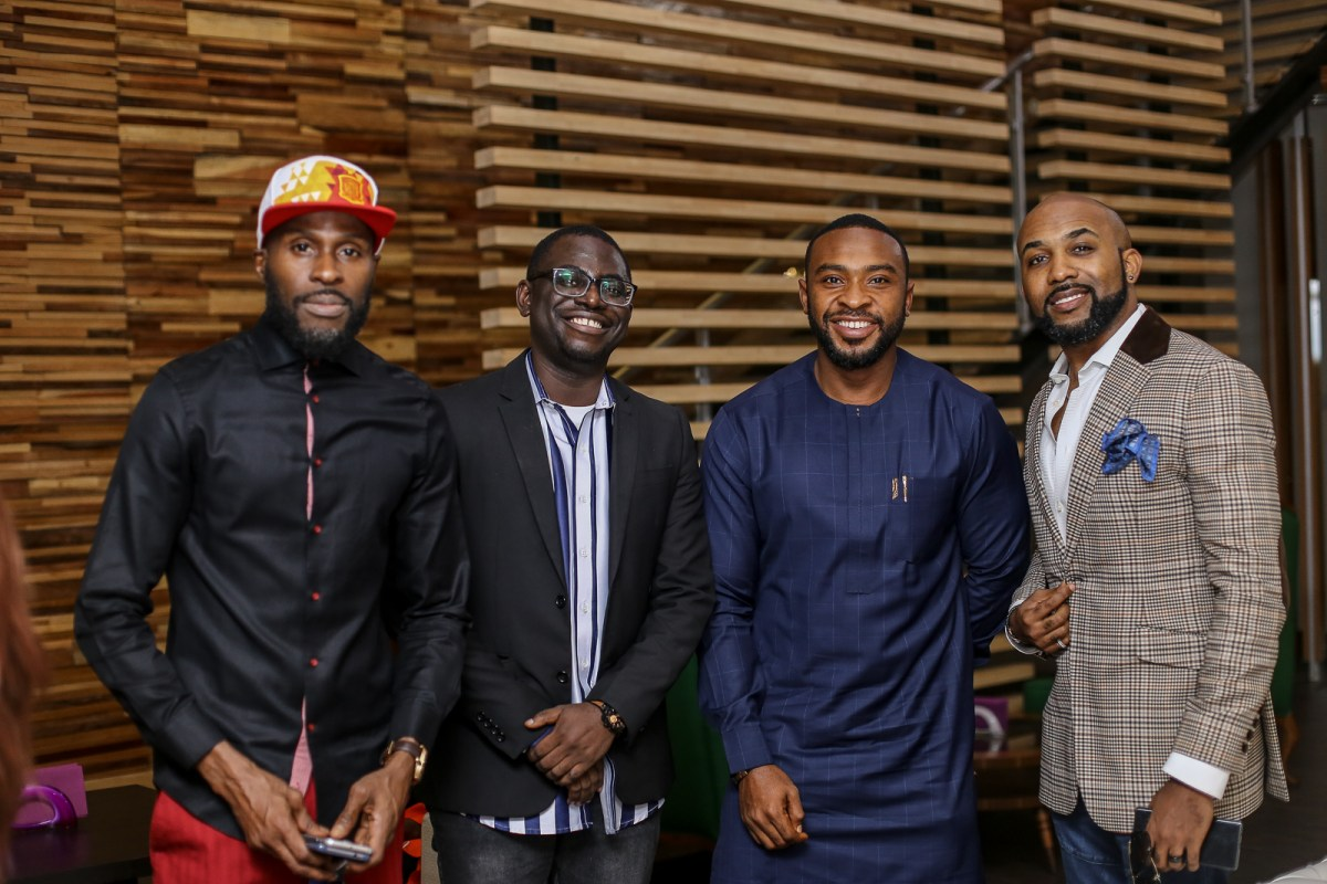 Ikechukwu Niyi Akinmolayan Enyinna Nwigwe Banky W1 - Highlights From The Early Screening Of The Wedding Party 2
