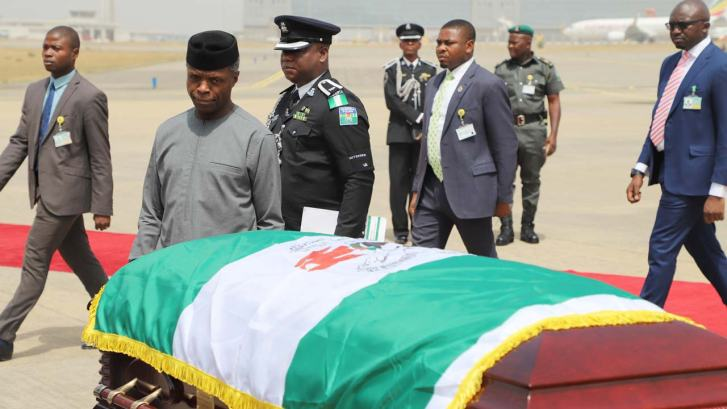 Image result for Ngige denies naming N1b for Ekwueme's burial