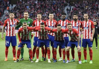 Image result for Torres leads Atletico against Super Eagles in Uyo