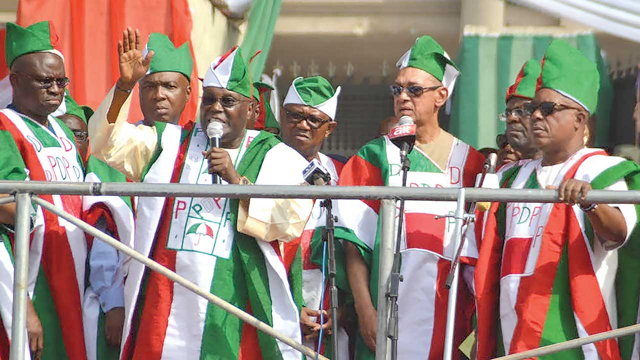 Image result for Atiku, PDP