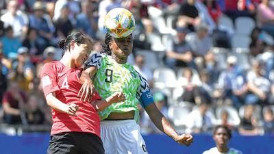 Nigeria battles hosts in Rennes for survival 1