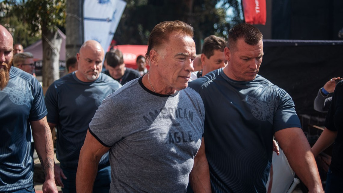 Image Result For Schwarzenegger Assaulted At South African Sports Event