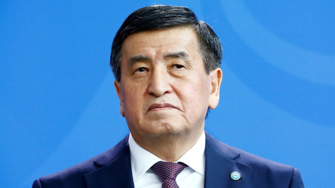 Ex-president leaves Kyrgyzstan as criminal case mulled