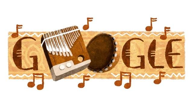 Google Celebrates Zimbabwe's Culture Week With Doodle Of The Mbira /