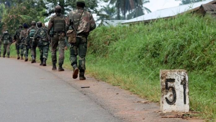 DR Congo soldier