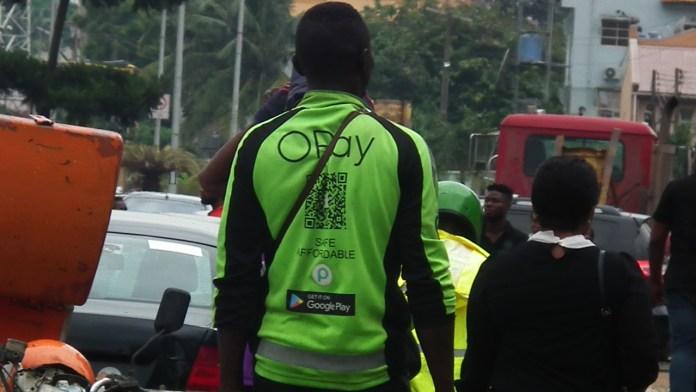 OPay rider