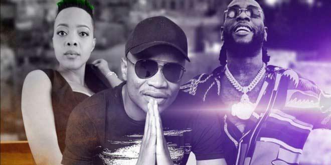 Burna Boy hooks up with Master KG, Nomcebo Zikode in Jerusalema remix video