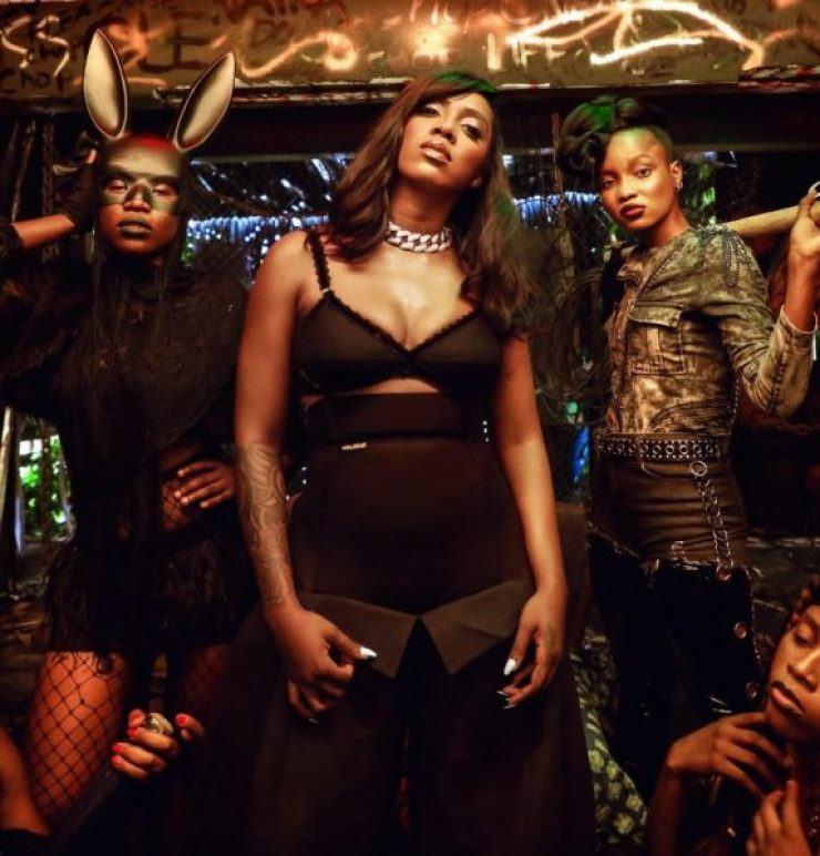 """Watch: Tiwa Savage Releases Music Video For """"Ole"""" Featuring Naira Marley"""