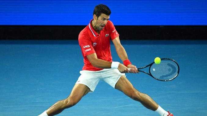 """A nervous Djokovic resurrects his """"love affair"""" with the Australian Open"""