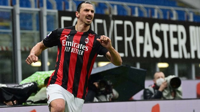 """Ibrahimovi is """"exceptional"""" smashing the 500 goal mark to keep Milan at the top"""