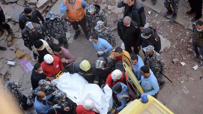 Egypt building collapses