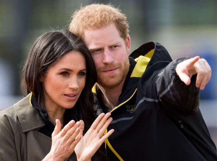 Harry and Meghan Markle Mark Cuthbert UK Press via Getty Images