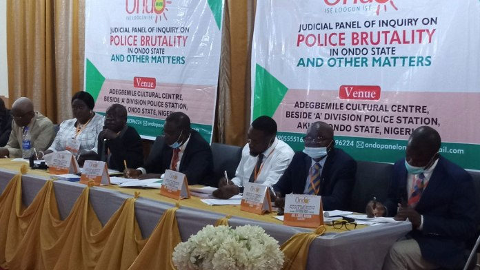 end sars ondo panel receives 32 petitions on police brutality