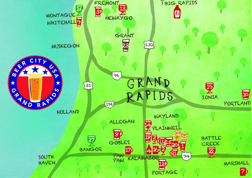 W MI beer map 2