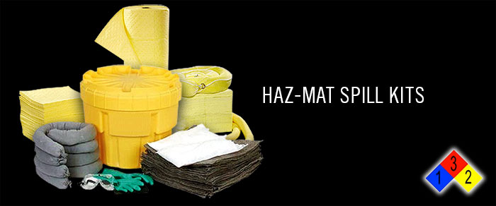 Hazmat spill kits