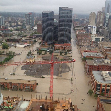 Downtown Calgary, #yycflood, #abflood,