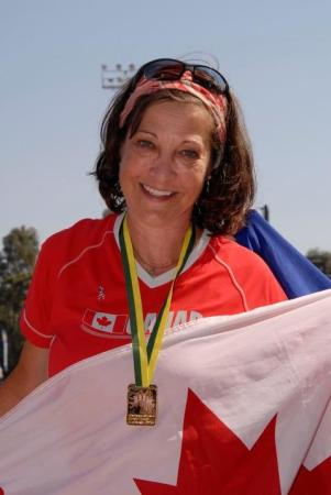 Margaret Benson, Double Lung Transplant Recipient, 1999, Winner and Participant in World and National Transplant Games, Winner of Courage to ComeBack Award
