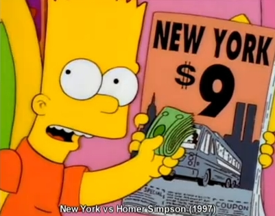 Simpsons Episode in the later 90s reflects on 9/11 hidden agendas