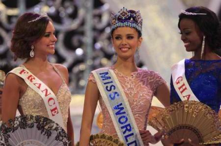 Top Three Miss World