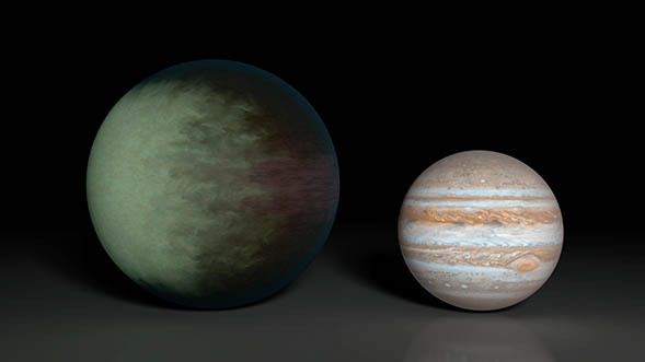NASA telescopes discover clouds on exotic world beyond solar system
