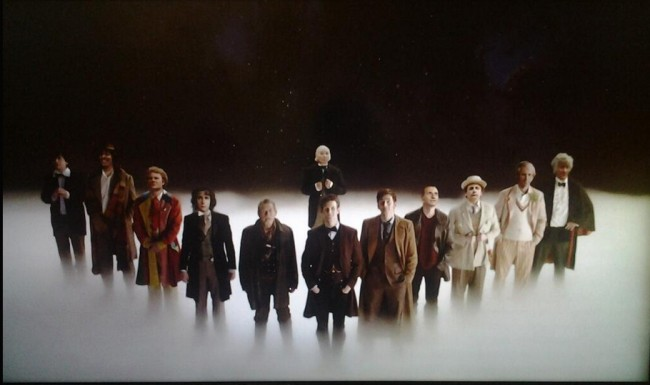 13 Faces of Doctor Who