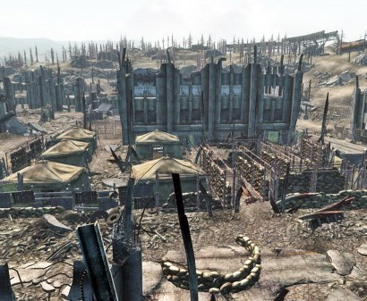 Germantown Police HQ in Fallout 3
