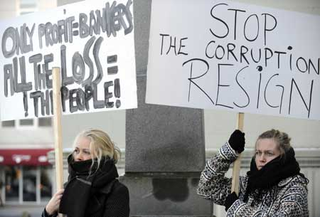 Icelanders Overthrow Government and Rewrite Constitution After Banking Fraud-No Word From US Media