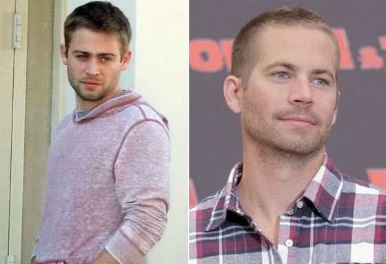 Cody Walker (L) and late brother Paul (R)