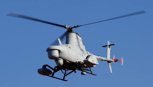 """Robots can be UAVs like the """"Fire Scout"""""""
