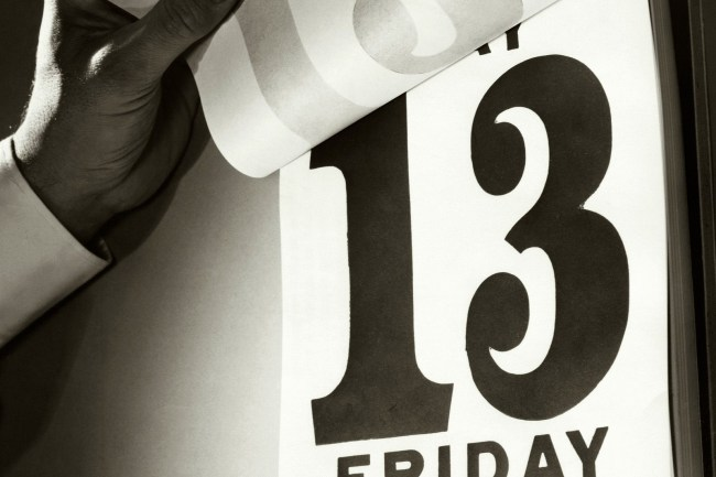 friday, friday the 13th, bad luck, superstitions, urban legends, fun facts