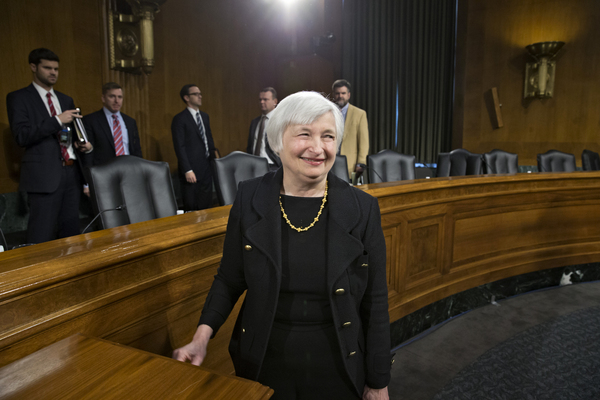 Fed Chief Yellen Confirmed by Senate as Washington Politicians Criticize Policies