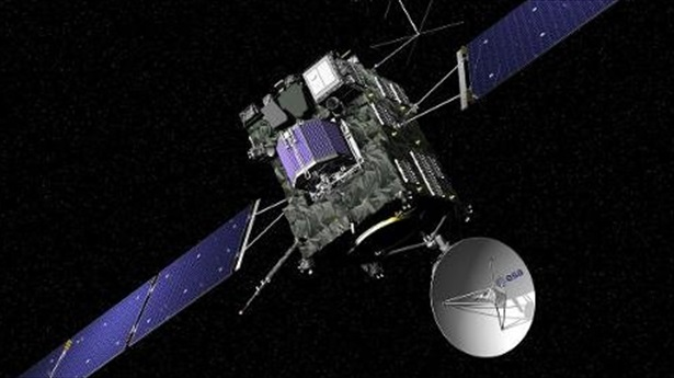 Rosetta the Comet Chasing Spacecraft Phones Home After Three Years