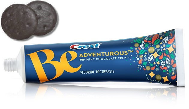 Crest Toothpaste enhances the brushing experience with the introduction of chocolate mint