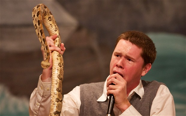 Snakes Alive and the Preacher Goes Free  [Video]