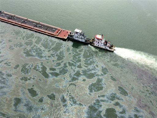Oil Spill Ignites Another Transport Debate