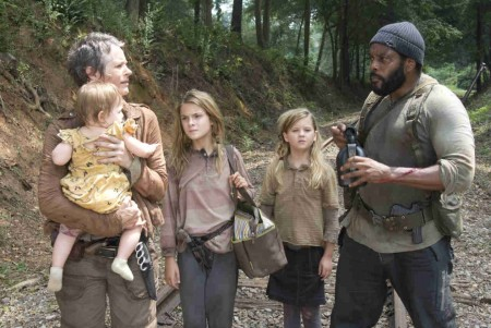The Walking Dead: The Grove Damaged Youth and Shocking Death