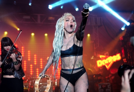 Lady Gaga Puking Painter Tweets Angry Rebuttal to Demi Lovato