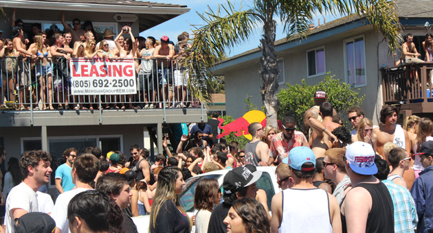 Southern California Party Becomes a Riot 100 Arrested