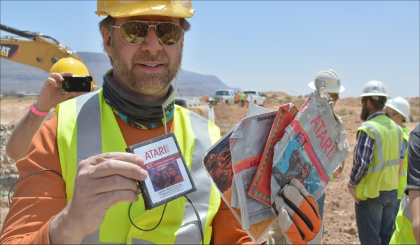 Atari Cartridges Recovered in New Mexico Desert