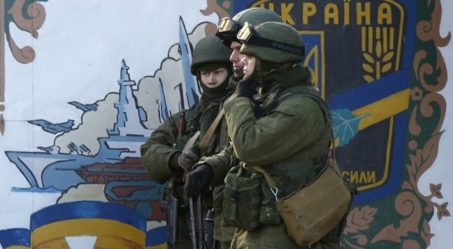 Ukraine: Russia Says 40,000 Troops to Defend Russia