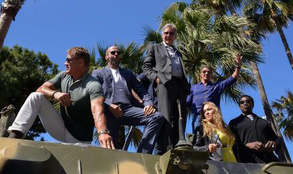 'Expendables 3' Cast Tanked Into Cannes