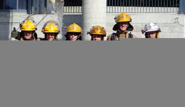 New Zealand Firefighters Race Atop Sky Tower to Raise Money