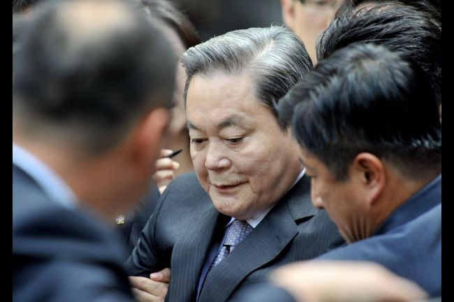 Samsung Group Chairman Has Heart Attack